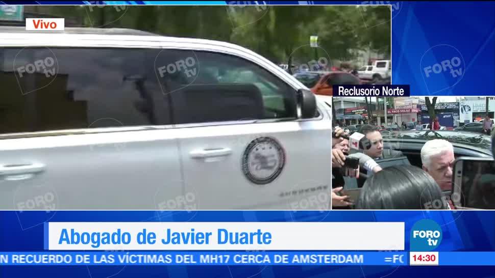 Abogado, Javier Duarte, tienen sustento