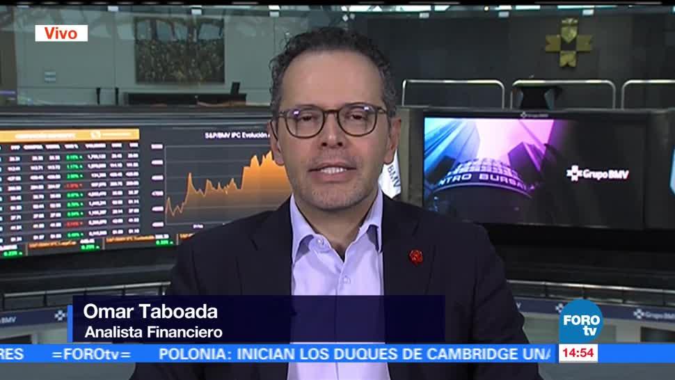 Omar Taboada, analista financiero,mantiene fortaleza, frente al dólar