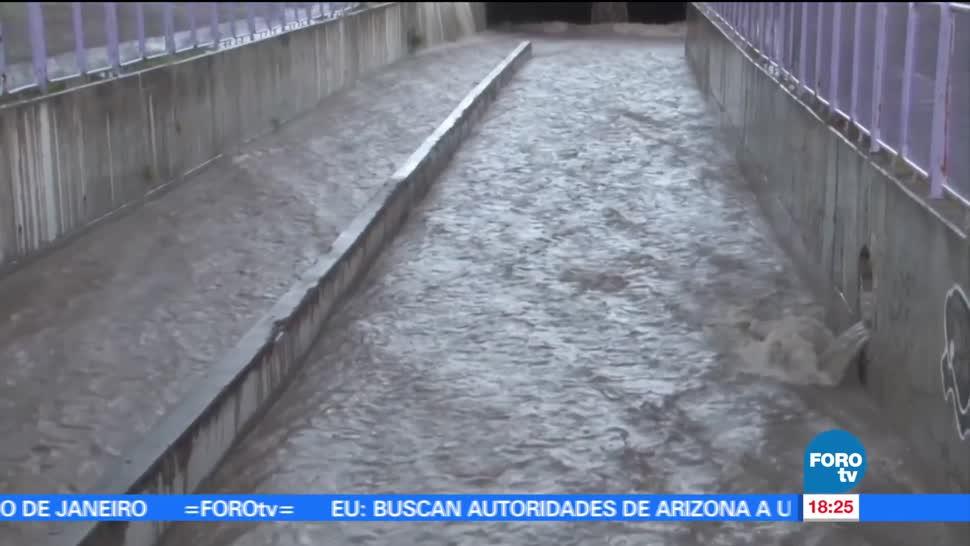 cuatro muertos, lluvias, Chihuahua