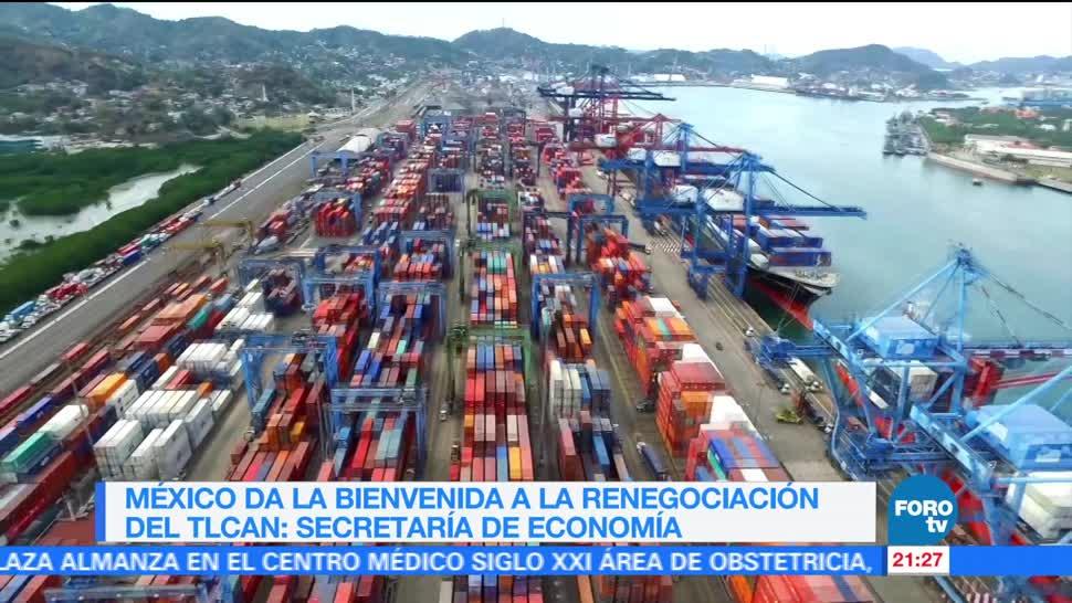 noticias, forotv, México, bienvenida, renegociación, TLCAN