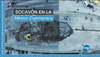 noticias, forotv, Socavón, Paso Express, Cuernavaca, implicaciones