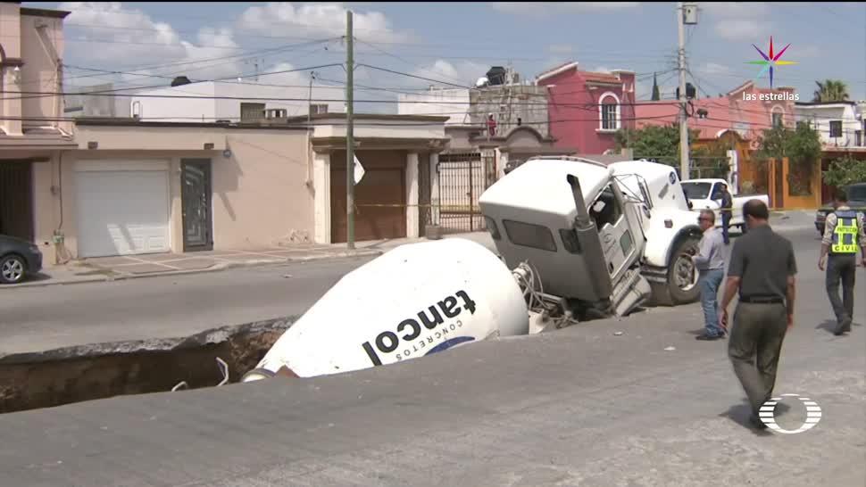 noticias, televisa, Socavones, CDMX, Tamaulipas, Reynosa