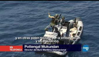 noticias, televisa, Genaro Lozano, entrevista, Pottengal Mukundan, Buró Marítimo Internacional,