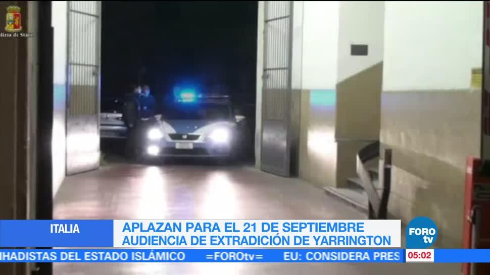 defensa de Tomás Yarrington, Corte de Florencia, Italia, arresto domiciliario, exgobernador de Tamaulipas