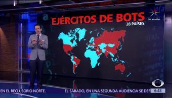 estudio, Universidad de Oxford, gobiernos, 28 países, soldados cibernéticos