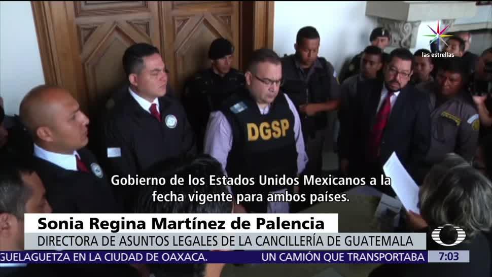 Javier Duarte, hangar de la PGR, AICM, examen médico