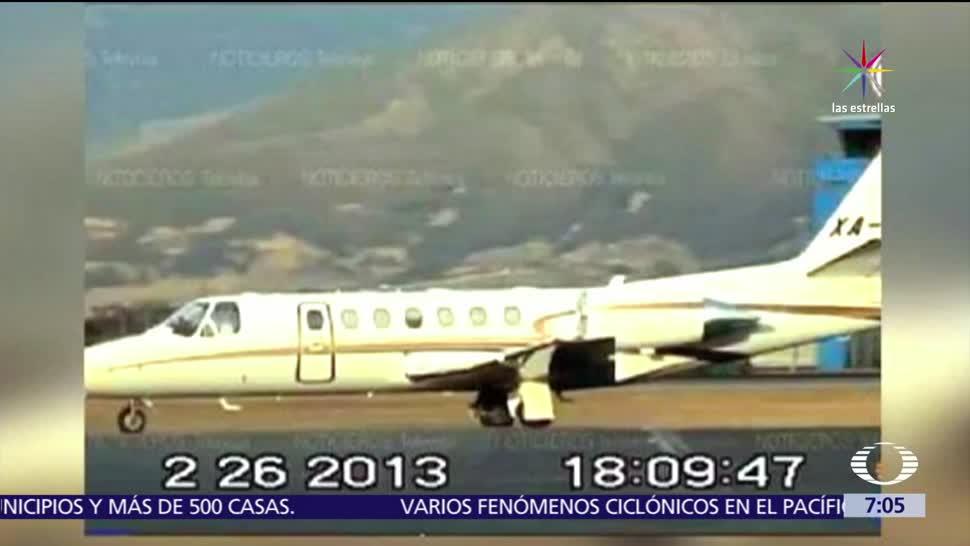Avión, Javier Duarte, Elba Esther Gordillo, PGR, lideresa sindical
