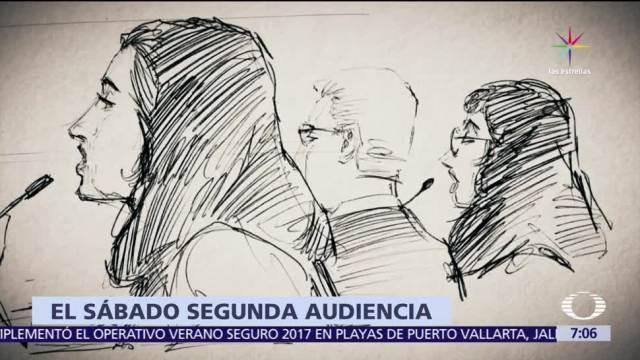 audiencia programada, Javier Duarte, vinculado a proceso, Reclusorio Norte