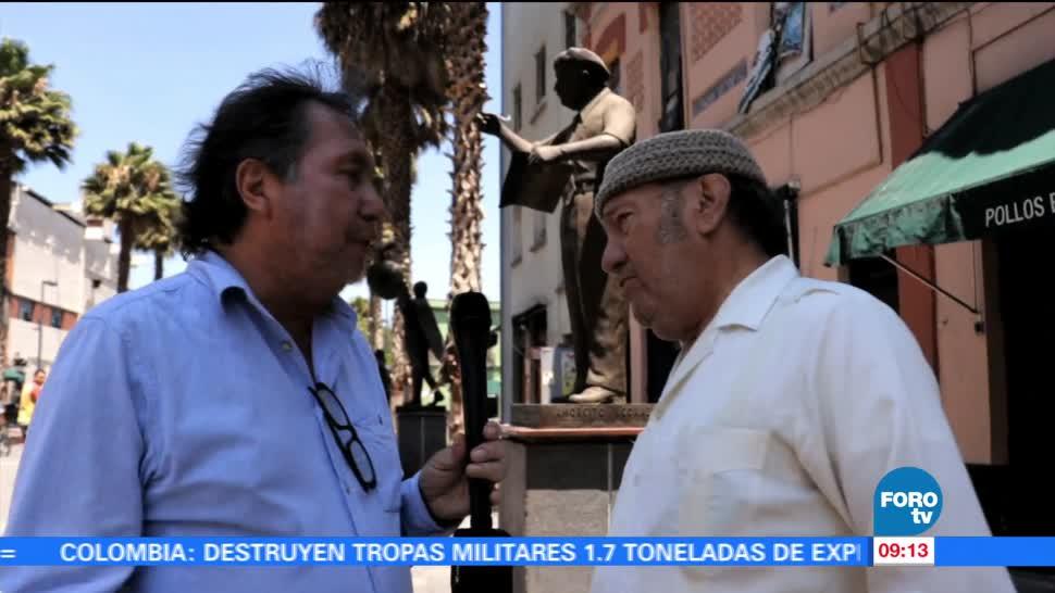 maestro, Armando Ramírez, reportaje, escultura a Manuel Esperón, Plaza de Garibaldi