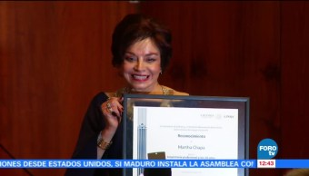 Homenaje, Martha Chapa, Bellas Artes, pintora escultora y escritora