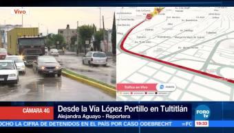 Lluvia Intensa, Inundaciones, Norte, Del Valle De Mexico