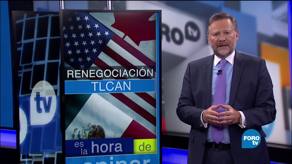 noticias, forotv, Renegociación, TLCAN, Raúl Feliz, Leo Zuckermann