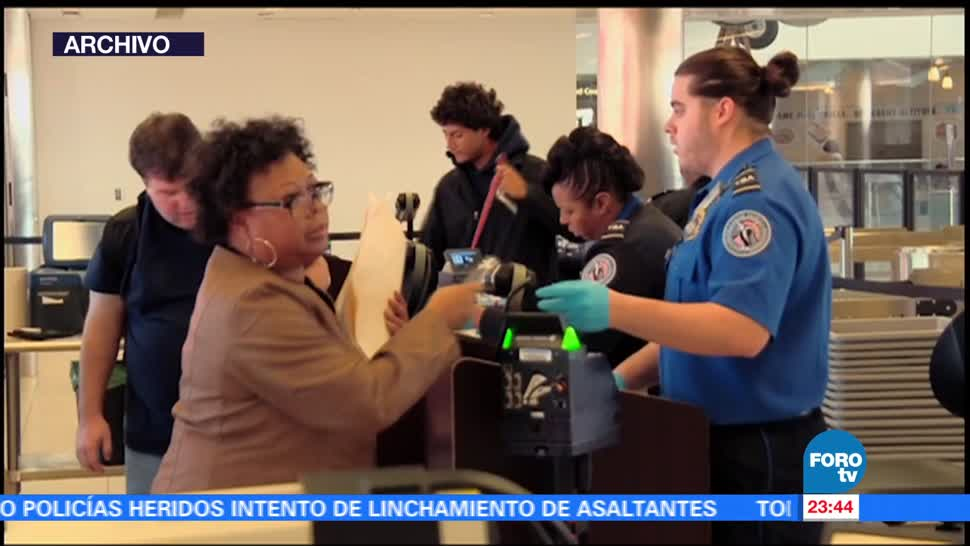 noticias, forotv, EU, aplica, medidas extraordinarias, seguridad en vuelos