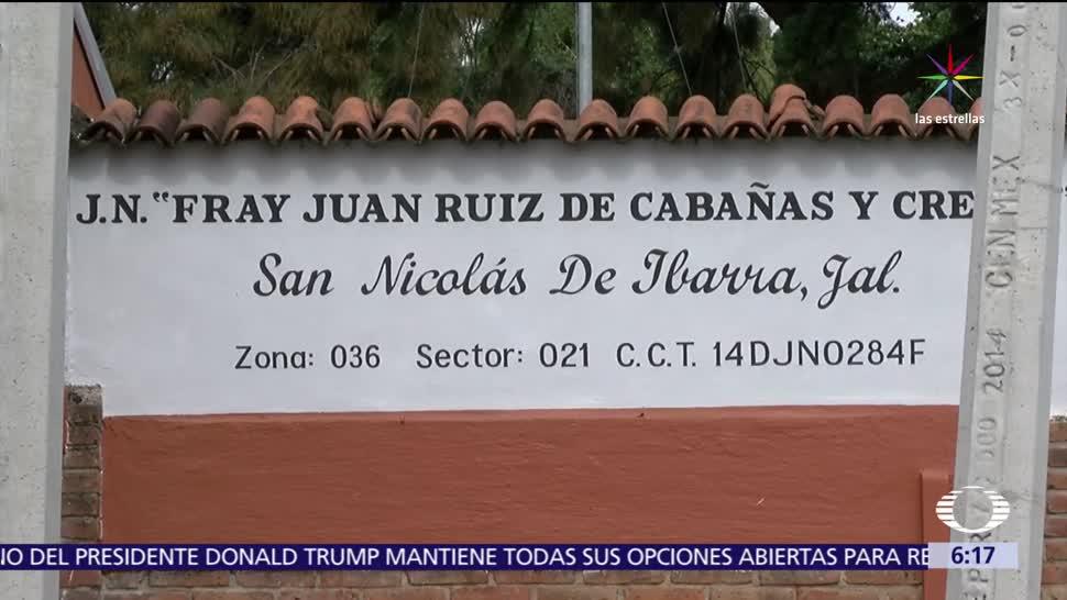 Jalisco, maestra, 11 alumnos de preescolar, autoridades educativas