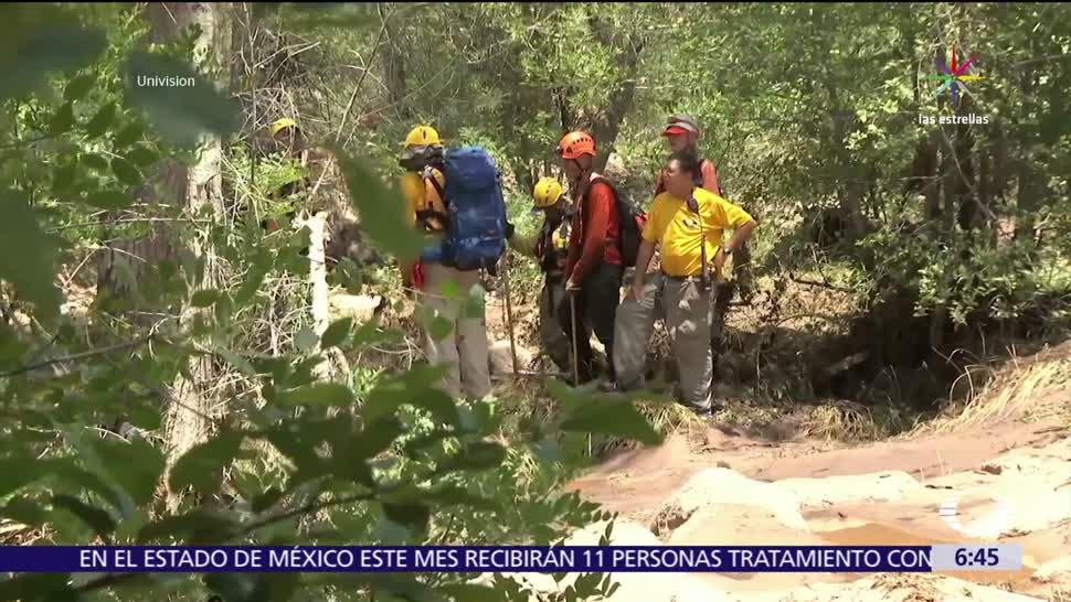 Mueren nueve mexicanos, familia, crecida súbita, río en Arizona