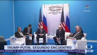 Donald Trump, Vladimir Putin, segunda reunión, cumbre del G20