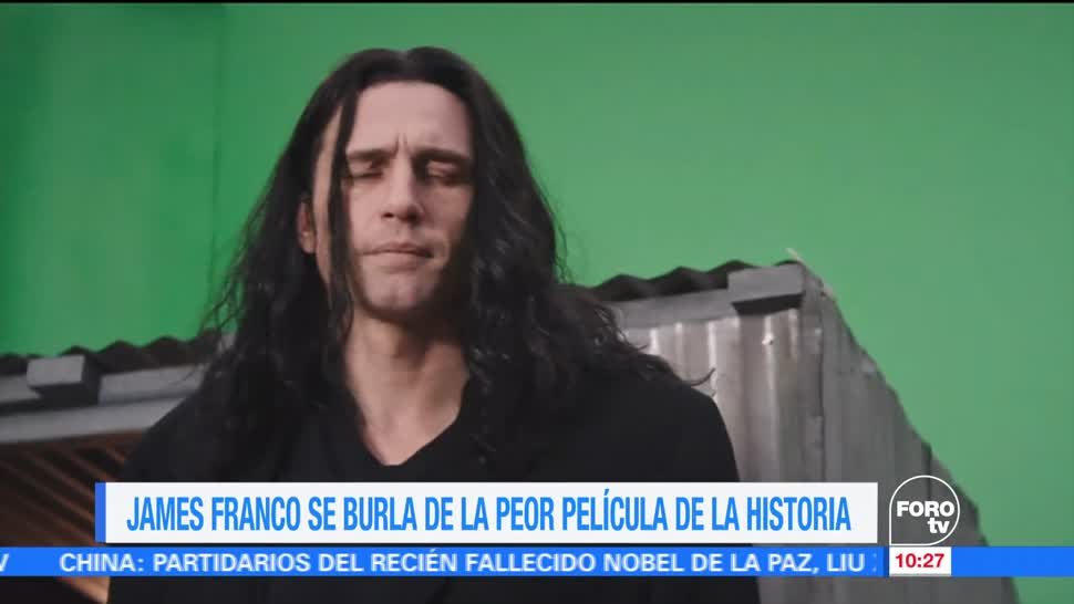 actor James Franco, película 'The room', peor película, historia del cine