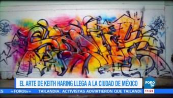 Sofía Escobosa, reportaje, arte de Keith Haring, Ciudad de México