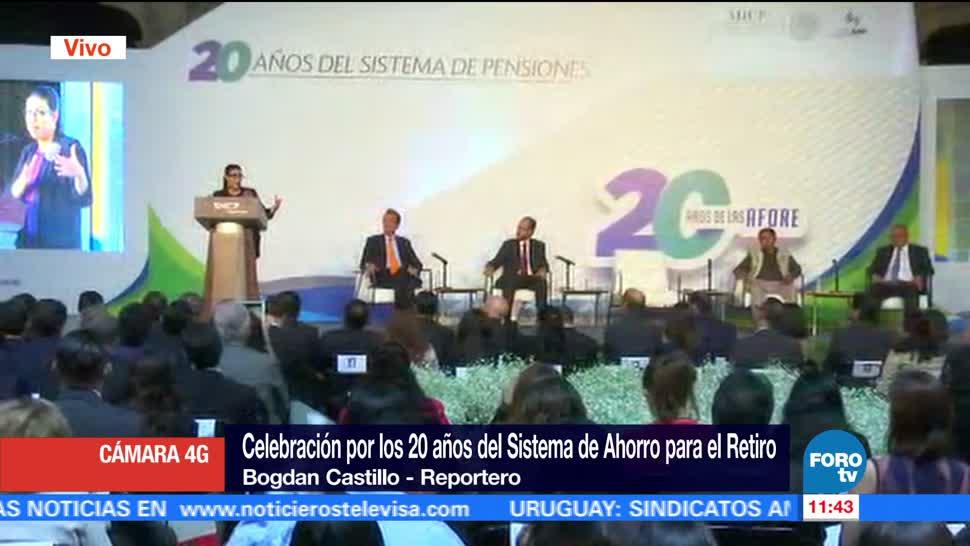 20 años, las Afores, 2.94 billones de pesos, ahorros, pensiones