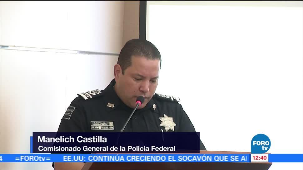 Manelich Castilla, comisionado general, Policía Federal, medios de comunicación