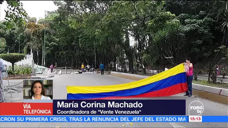 noticias, televisa, últimos días, dictadura, Nicolás Maduro, María Corina Machado