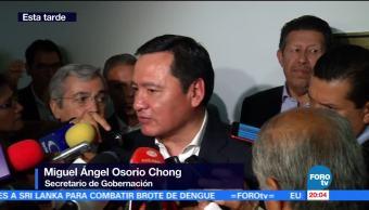 Osorio Chong, Segob, pide, tener confianza, trabajo, PGR