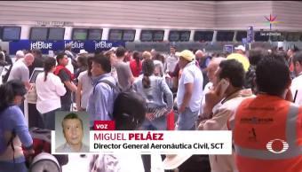 STC, anuncia, Nuevas, medidas seguridad, vuelos, México-EU