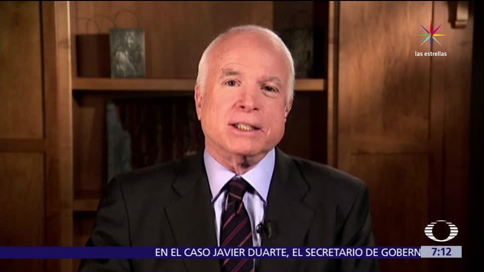 John McCain, diagnosticado, cáncer cerebral