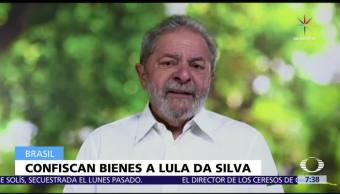 Confiscan, expresidente, Brasil, Lula da Silva