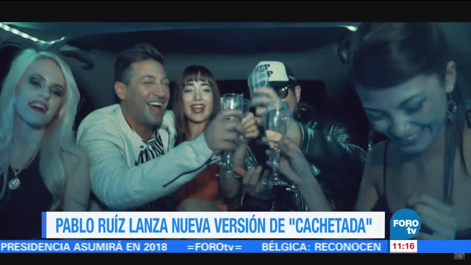 cantante, Pablo Ruíz, Auténticos Decadentes, nueva versión, canción, 'Cachetada'