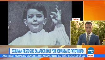 España, restos de Salvador Dalí, pruebas de ADN, Pilar Abel