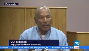 OJ Simpson, gravedad de sus actos, libertad condicional, meterse en problema