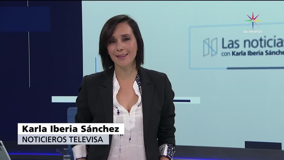 Las noticias, Karla Iberia, julio, 2017