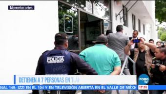 operativo federal, narcotráfico, delegación Tláhuac, bombas molotov