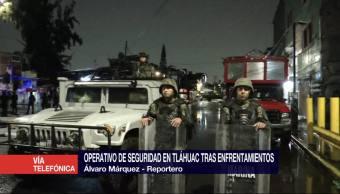 noticias, forotv, Semefo, continúa laborado, enfrentamiento, Tláhuac