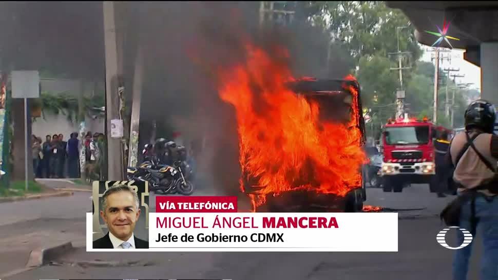 noticias, forotv, Mancera, grupo criminal ,Tláhuac, no es un cártel