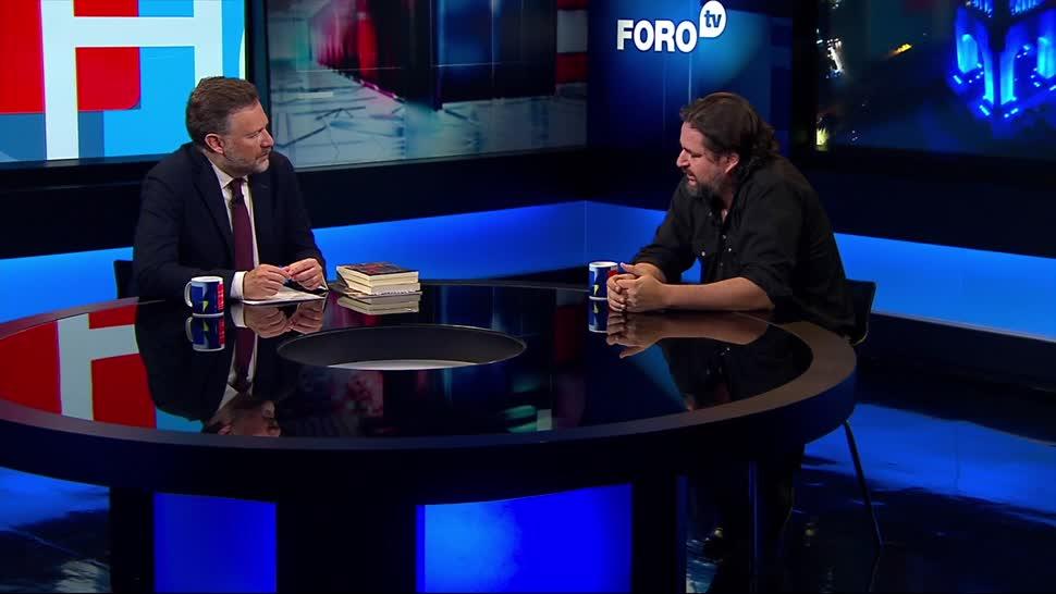 noticias, televisa, Un Vaquero Cruza la Frontera en Silencio, Diego Osorno, Frontera, Leo Zuckermann