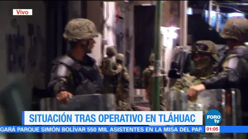 noticias, forotv, Suman, 26 detenidos, hechos violentos, Tláhuac