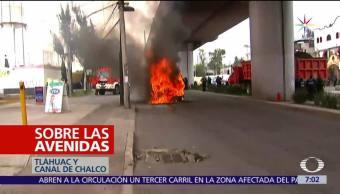noticias, televisa, Tláhuac, sacudida, enfrentamiento armado, narcobloqueos