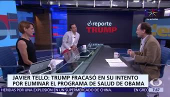 noticias, televisa, Reporte Trump, Los primeros 6 meses, Presidencia del exmagnate, Trump