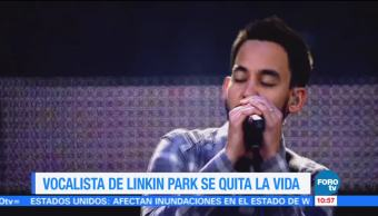 noticias, forotv, Vocalista, Linkin Park, quita la vida, Chester Bennington