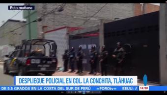 Autoridades Federales, Entregan Al Ministerio Publico, Inmueble De Tlahuac, Vinculado A Enfrentamiento