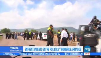 Enfrentamiento Otumba, Policias, Edomex, Deja Un Muerto