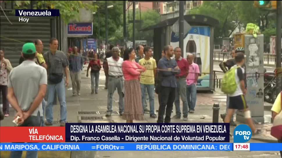 Paro Civico, Venezuela, Franco Casella, Diputado