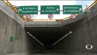 Distribuidor Vial Subterráneo Mixcoac Autoridades Inaugurar Agosto