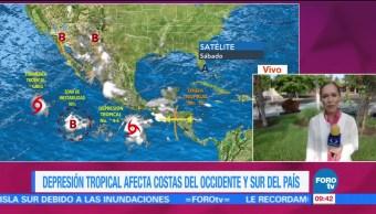 Autoridades, Depresion Tropical, Nueve-E, Costa De Colima