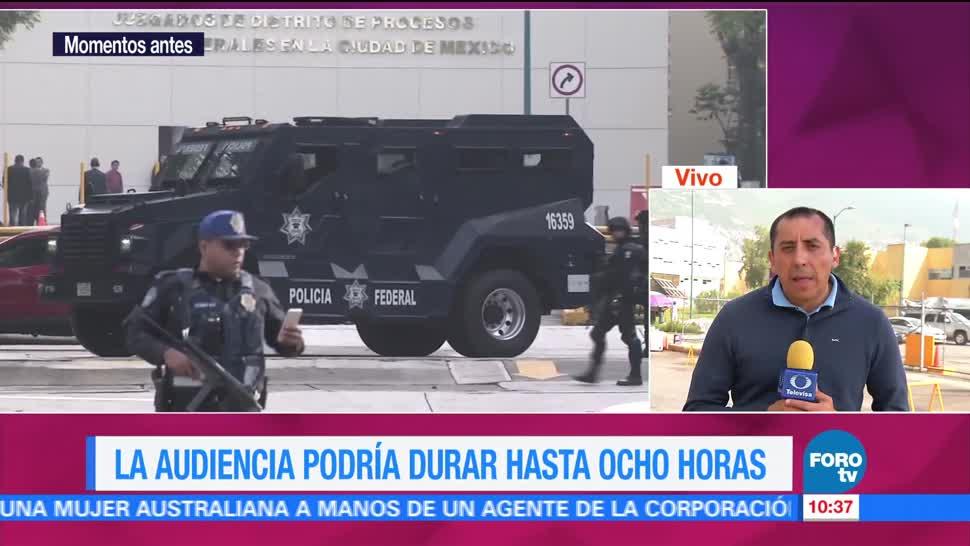Inicia, Segunda Audiencia, Javier Duarte, Reclusorio Norte