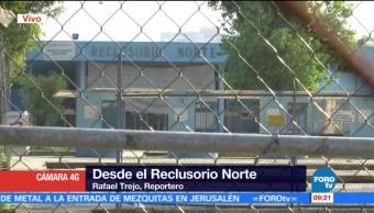 Javier Duarte, Rafael Trejo, Reclusorio Norte, Seis Dias