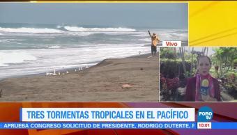 Tormenta Tropical, Hillary, Colima, Lluvias