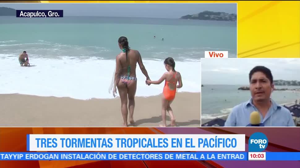 Turistas Inician Vacaciones, Acapulco, Autoridades Turísticas, Ocupacion Hotelera